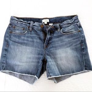 J Crew cutoffs
